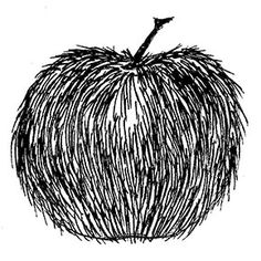 Art 1. Textured apples.