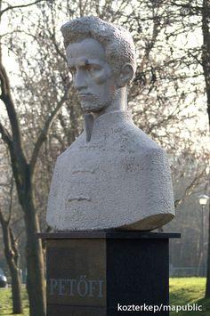 Petőfi Sándor mellszobra - Százhalombatta (Bocskai Vince, 2012) | Köztérkép
