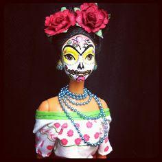 Día de los Muertos Barbie dolls