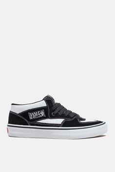 0904ffe720 BRAND NEW VANS HALF CAB PRO WHITE BLACK WHITE SUEDE SZ US M 10 UK 9 EUR 43   VANS  AthleticSneakers