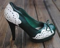 50s Style Retro High Heels Pumps