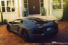 http://chicerman.com  myheartpumpspetrol:  Aventador | ADV1WHEELS  #cars