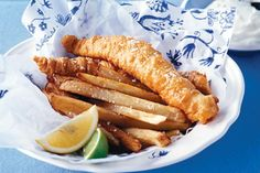 Basic fish and chips