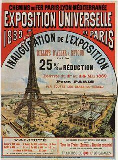 L' Exposition Universelle de 1889 à Paris