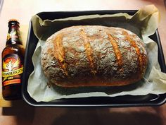 Grimbergen abbey beer bread.