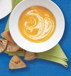 Saturday Lunch: Sweet Potato Soup