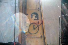 Hand Stencil Hobo Code, Hobo Signs, Forms Of Communication, Decoding, Door Handles, Stencils, Graffiti, Usa, Door Knobs