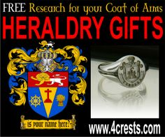 Picard coat of arms rings, mugs, plaques, steins, embroidered gifts, engraved gifts, plates, keychains, flags and much more at www.4crests.com