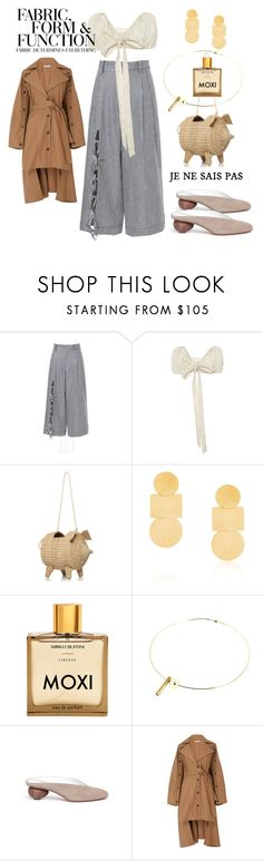 """""""F A B R I C / F O R M / F U N C T I O N"""" by statuslusso ❤ liked on Polyvore featuring Annie Costello Brown, Vera Wang, Gray Matters, palmer//harding and Summer"""