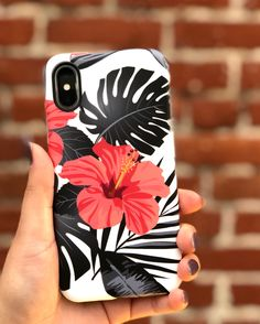 Another brick in the wall Phantom Hibiscus floral case for iPhone X, iPhone 8 Plus / 7 Plus & iPhone 8 / 7 from Elemental Cases available for Iphone 8 Plus, Iphone 7, Coque Iphone, Iphone Cases, Mobile Accessories, Iphone Accessories, Drawing Apple, Mobile Covers, Cute Phone Cases