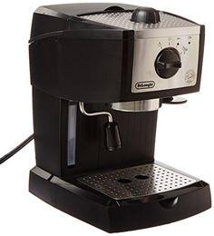 De'Longhi EC155 15 BAR Pump #Espresso and #Cappuccino #Maker  Full review at: http://toptenmusthave.com/best-espresso-maker/