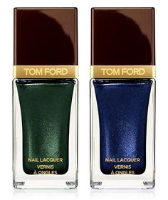 Tom Ford Beauty Color Collection for Spring 2015 - Nail Lacquer – Limited Edition – $32.00 •Black Jade – Jade •Indigo Night – Indigo