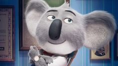 Buster Moon Sing 2016 Movie Koala Wallpaper