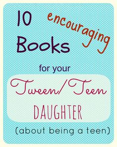 Help your tween/ teen navigate through those awkward years of insecurity and change.