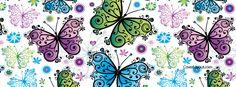 Butterflies Facebook Cover CoverLayout.com