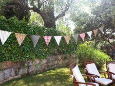 Tutorial #DIY: Guirnalda de Banderines Vintage : Blog Mamá también sabe