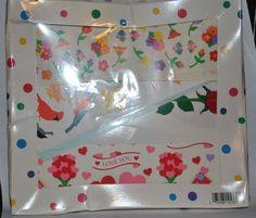VTG 1993 Mrs. Grossman's Sticker Kit HEARTS AND FLOWERS 275 Stickers NIB  #MrsGrossmans