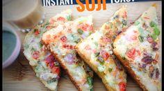 Instant Suji Toast   Semolina Toast Recipe   Breakfast Recipes   Rava To...