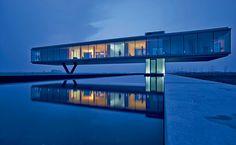 Villa Kogelhof by Paul de Ruiter Architects in Kamperland, Holland