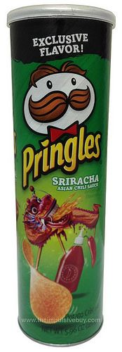 REVIEW: Sriracha Pringles (Walmart Exclusive Flavor)