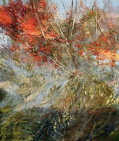 "Lynn Boggess ""22 October 2012"" Oil on canvas 26"" x 30"""