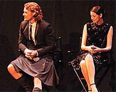Top 15 Reasons Why We Love Outlander's Caitriona Balfe-She's not afraid to take a peek under Sam's kilt