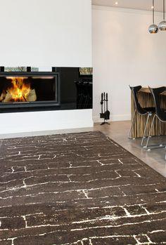 Moderne Teppiche Für Wohnzimmer   Zara Kollektion   Braun, Beige    Myneshome.de