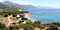 Agia Marina Beach in Rodakino, Rethimno, Crete Marina Beach, Greek Islands, Beaches, Travel Tips, Wanderlust, Explore, Holidays, Water, Outdoor