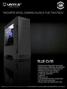 UNYKAch presenta su nueva caja para el gaming de iniciación, ¡la BLUE CASE ya está aquí!