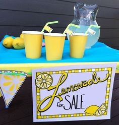 Decorate your lemonade stand