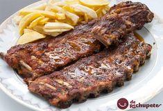 Recién publicada en el blog, costillas al horno con salsa barbacoa http://www.recetasderechupete.com/costillas-al-horno-con-salsa-barbacoa/12234/ #costillas #salsa #barbacoa