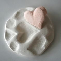 Love Heart Contour Stamp for Ceramics and Pottery by GiselleNo5