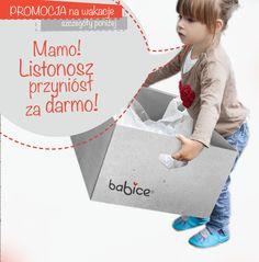 Przez cały okres wakacyjny mamy dla Was promocje, darmowa przesyłka ! odwiedźcie nasz sklep bucikibabice.pl