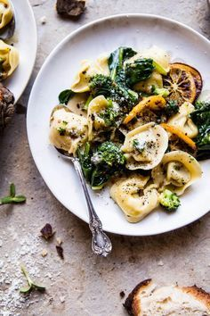 broccoli cheese tortellini