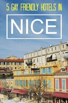 Nomadic Boys-5 gay friendly hotels in Nice