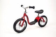 Kazam v2s Balance Bike, Red, 12-Inch - http://www.bicyclestoredirect.com/kazam-v2s-balance-bike-red-12-inch/