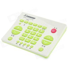 CHUNGHOP RM-L199 30-key Multifunction Study Remote Controller - Green + Beige. The latest mini learning universal remote controller, 30 learning function keys, through learning function, can control almost all the infrared remote control of home appliance equipment. Optional learning key, can be used for car CD remote substitution, substitution, projector remote control remote control substitution digital camera remote control, etc., Mini size and convenient to carry, good quality.. Tags…