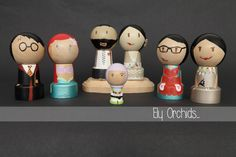 Ely Orchids Wooden dolls #pegs #elyorchids Check em out on instagram! elyorchids
