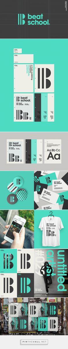 Beat School Branding by Alex Townsend