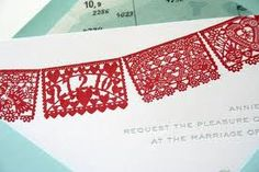 Image result for papel picado wedding