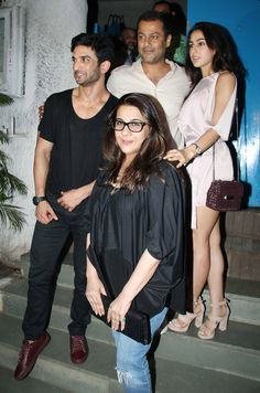 bollywoodmirchitadka: Sushant Singh, Sara Ali Khan, Amrita Singh and Abh...