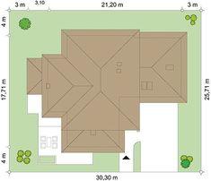 Projekt domu Dom z widokiem 269,44 m² - koszt budowy - EXTRADOM Big Houses Inside, House Inside, Bar Chart, Floor Plans, Diagram, Home Plans, Home Designs Exterior, Bar Graphs, Floor Plan Drawing