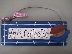Ark Collector wall plaque - A must for Noah's Ark lovers!!