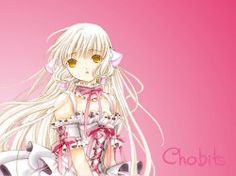 Couverture : Chobits, Tome 4