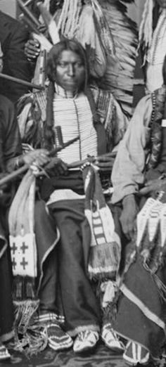 Yellow Bear,Oglala Lakota.1877