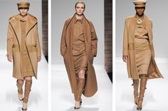 GlamJam-The Fashion Atlas.  From The Fashion Trunk: MaxMara Camel Coats A/W 2012-13