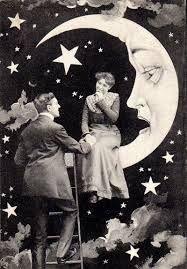 Résultats de recherche d'images pour «vintage wedding moon»