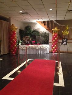 Red Carpet Birthday Party Ideas | Photo 8 of 20