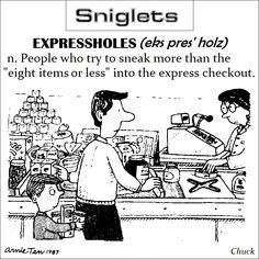 Expressholes