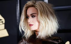 Download wallpapers Katy Perry, 4k, portrait, 2017, American singer, blonde, beautiful young woman, Katheryn Elizabeth Hudson
